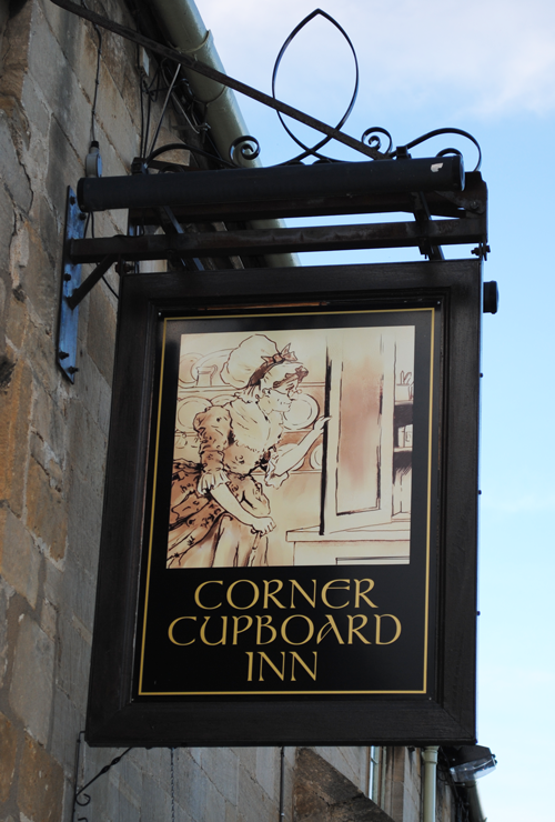 Corner Cupboard Inn - Sign